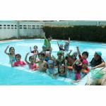สระว่ายน้ำในโรงเรียน - โรงเรียนกุมุทมาส