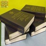 งานเข้าเล่มแบบวิทยานิพนธ์-ปกแข็งพิมพ์ทอง-คละไซส์ A3 A4-มี-Text-ที่สัน - ศูนย์ถ่ายเอกสาร-พิมพ์เขียว บี เอ็ม ซี