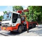 รถบรรทุกติดเครน - บริษัท เครนสุทธิขนส่ง จำกัด