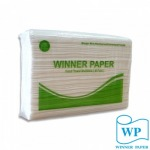 กระดาษเช็ดมือ M-Fold 2 ชั้น - กระดาษชำระวินเนอร์ เปเปอร์