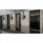 Design the spraying room - paint room - Cheng Hua (Thailand) Co Ltd