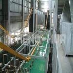 ติดตั้งระบบลำเลียงแบบแขวนสำหรับพ่นสี - ผลิตติดตั้งระบบพ่นสีอุตสาหกรรม ออกแบบระบบห้องพ่นสีครบวงจร เจิ้นหวา (ไทยแลนด์) พร้อมให้ปรึกษา