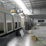 รับทำห้องพ่นสี - ผลิตติดตั้งระบบพ่นสีอุตสาหกรรม ออกแบบระบบห้องพ่นสีครบวงจร เจิ้นหวา (ไทยแลนด์) พร้อมให้ปรึกษา