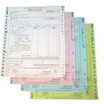 ผลิตกระดาษต่อเนื่องหนังสือรับรองการหักภาษี - อุตสาหกรรมกระดาษต่อเนื่อง