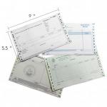 ฟอร์มเคมีสั่งผลิต 9x5.5 - อุตสาหกรรมกระดาษต่อเนื่อง
