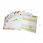 ฟอร์มเคมีสั่งผลิต 9X11 - อุตสาหกรรมกระดาษต่อเนื่อง