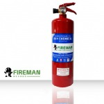 FIREMAN HATSUTA Dry chemical fire extinguisher - Fire Extinguisher Factory - Green Cross Safety