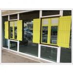 หน้าต่างบานสวิง ประจวบคีรีขันธ์ - สงวนชัย กระจก อลูมิเนียม ประตูหน้าต่าง ไวนิล