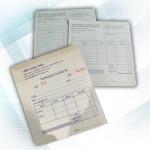 รับผลิตบิลใบเสร็จ - บริษัท บุญศิริการพิมพ์ จำกัด