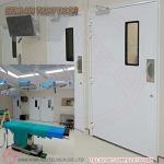 รับสั่งทำประตูห้องผ่าตัด ประตูโรงพยาบาล ประตูห้องแล็บ - รับติดตั้งประตูคลีนรูม ประตูหน้าต่างอลูมิเนียม สยาม เอเซีย อลูเทค