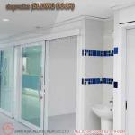 ประตูบานเลื่อน (SLIDING DOOR)  - รับติดตั้งประตูคลีนรูม ประตูหน้าต่างอลูมิเนียม สยาม เอเซีย อลูเทค