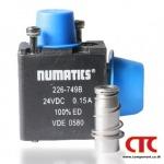NUMATICS 226-749B SOLENOID VALVES - จัดหา สินค้าโรงงาน อุปกรณ์ไฟฟ้า อะไหล่เครื่องจักร อุปกรณ์นิวเมติกส์ อุปกรณ์ไฮดรอลิก - คอมโพเนนท์ เทรด เซ็นเตอร์