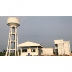 Steel structure cement tank - Thai Charoenshuk Engineering Co Ltd