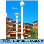 Build water tanks in the temple - Thai Charoenshuk Engineering Co Ltd