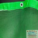 อวนเขียวกันฝุ่น รุ่นมีตาไก่ - ขายอวน  ตาข่าย Safety net อุปกรณ์จับปลา อวนกรุงเทพ