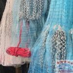 ขายส่ง แหจับปลาเนื้อเกรดA อย่างดี  - ขายอวน  ตาข่าย Safety net อุปกรณ์จับปลา อวนกรุงเทพ