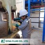 งานซ่อมบำรุงระบบบำบัดน้ำเสียโรงงาน - บริษัท ไดน่า ฟลูอิด จำกัด