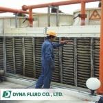 ทำความสะอาดระบบ (Cooling Tower) - รับติดตั้งระบบบำบัดน้ำเสีย - ไดน่า ฟลูอิด