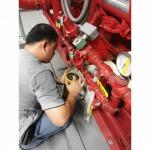 ตัวแทนตรวจสอบปั้มดับเพลิง - บริการซ่อมและเครื่องสูบน้ำปั๊มดับเพลิง เรดดี้บัฟฟาโลส์