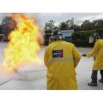 ฝึกอบรมการดับเพลิงขั้นต้น - อบรมดับเพลิงและฝึกซ้อมหนีไฟ - นิปปอน