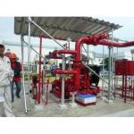 ติดตั้งระบบปั๊มน้ำดับเพลิงชนิดเครื่องยนต์ดีเซลล์ - ระบบปั้มดับเพลิง สต๊อกน้ำยาโฟมฉุกเฉิน - นิปปอน