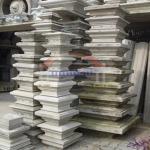 หัวเสารั้ว - รับผลิตออกแบบเสาโรมัน บัวปูปั้น คิ้วบัว งานปูนปั้นตามแบบตามสั่ง เน้นงานปราณีตและคุณภาพ