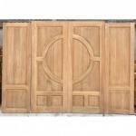ประตูไม้สักบานคู่ - ห้างหุ้นส่วนจำกัด บ้วนเซ่งไถ่
