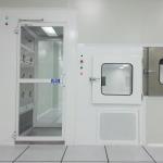 ตู้เป่าลมสำหรับบุคคล (Air Shower) และตู้ส่งของ (Pass Box) - รับออกแบบและสร้างห้องคลีนรูม คลีนแอร์ โปรดักท์