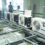 ระบบปรับอากาศ แบบแยกส่วน (ท่อน้ำยา) - รับออกแบบและสร้างห้องคลีนรูม คลีนแอร์ โปรดักท์