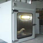 ตู้ปลอดเชื้อสำหรับรักษาสัตว์ที่ป่วย - รับออกแบบและสร้างห้องคลีนรูม คลีนแอร์ โปรดักท์