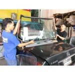 รับซ่อมกระจกรถยนต์แตก - สินไทย กระจกรถยนต์