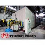 เตาอบลมร้อนแบบใช้แก๊ส  - ผลิตห้องพ่นสีครบวงจร - เพชรบุรีอุตสาหกรรม