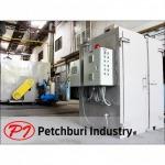 เตาอบลมร้อนแบบใช้ไฟฟ้า - ผลิตห้องพ่นสีครบวงจร - เพชรบุรีอุตสาหกรรม