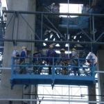 กระเช้างานก่อสร้าง - บริษัท โมเดิร์นคิท เอ็นจิเนียริ่ง จำกัด
