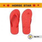 ขายรองเท้าเเตะม้าดาว สีแดง - บูลย์ชัย โรงงานผลิตรองเท้าแตะ