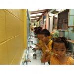 สถานที่เรียนมีความสะอาดปลอดภัย - อนุบาลรังสิมา-เนอสเซอรี่