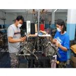 โรงงานตัดเย็บ - โรงงานทอผ้า - นำรุ่งไทย นิตติ้ง