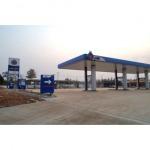 งานก่อสร้างสถานีบริการน้ำมัน - บริษัท เทพมงคล เอ็นจิเนียริ่ง จำกัด