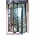 ประตูบานเฟี้ยม  - เฮง อลูมิเนียม รามคำแหง 124  รับติดตั้งบานประตูหน้าต่างกระจกอลูมิเนียม