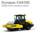 รถบดสั่นสะเทือน Dynapac CA610D - บริษัท พิณสยาม จำกัด