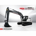 HIDROMEK HMK220LC - เครื่องจักรกลหนัก พิณสยาม