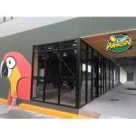ติดตั้งกระจกร้านกาแฟ - ห้างหุ้นส่วนจำกัด กิจชุมพรกระจกอลูมิเนียม