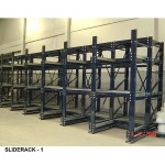 ชั้นวาง Slide Rack - จำหน่าย เคมีภัณฑ์  คิวเบสท์ เอ็นเตอร์ไพร์ส