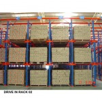 ชั่นวางสินค้าอุตสาหกรรม ( Drive in Rack ) - จำหน่าย เคมีภัณฑ์  คิวเบสท์ เอ็นเตอร์ไพร์ส