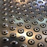รับเจาะรูตะแกรงแบบพิเศษ - งานโลหะแผ่น แอคเซ็ป SHEET METAL WORK ACCEPT
