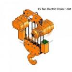 15 TON ELECTRIC CHAIN HOIST - บริษัท ไอ.ที.เอส.อินเตอร์เทรด จำกัด