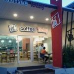 งานก่อสร้าง ตัวอย่างรับงานก่อสร้าง ร้านกาแฟ  - ห้างหุ้นส่วนจำกัด ปนิพลพัฒนา