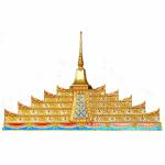 ขายยอดประดับติดลายทอง ลพบุรี - โลงเย็น ชัยศิริโลงทองลพบุรี