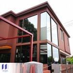 รับสร้างร้านกาแฟ กั้นกระจกติดแอร์ - จำหน่ายและติดตั้งอุปกรณ์ห้องเย็น - ไอโซ พาแนล