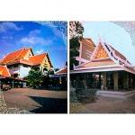 รับสร้างศาลาทรงไทย - รับเหมาสร้างวัด ช่างสิบหมู่
